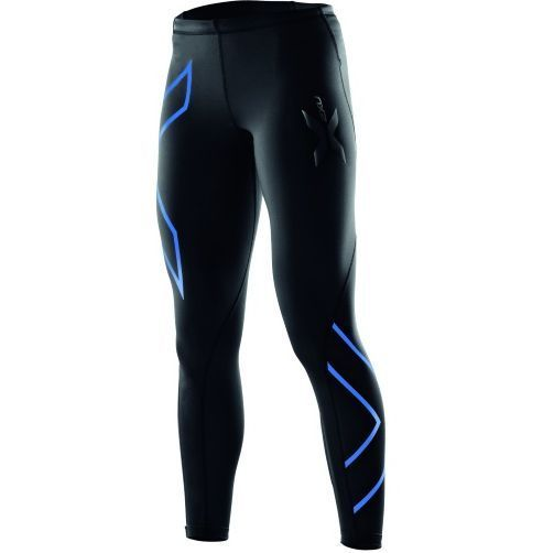 Brand New Womens 2XU Compression Long Tights Black Blue RRP $140 | eBay