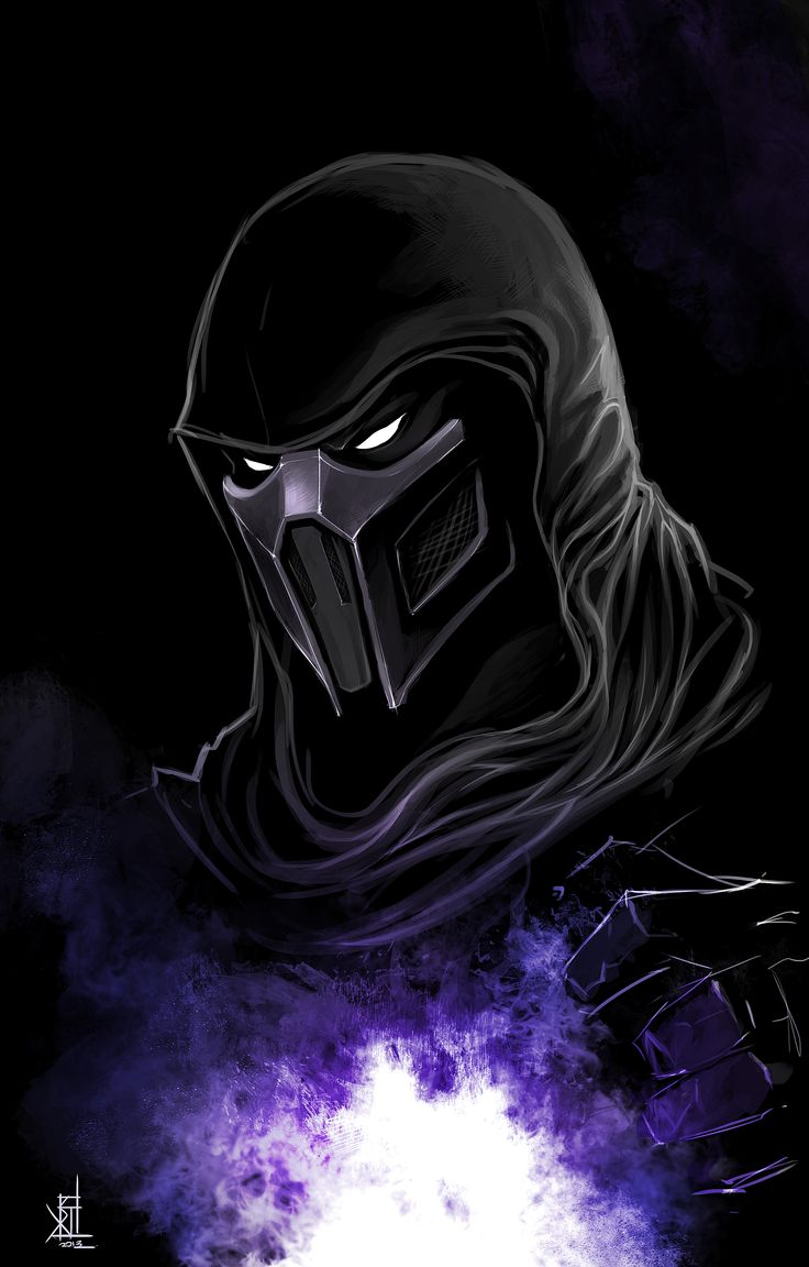 Noob Saibot by TheRisingSoul.deviantart.com on @deviantART
