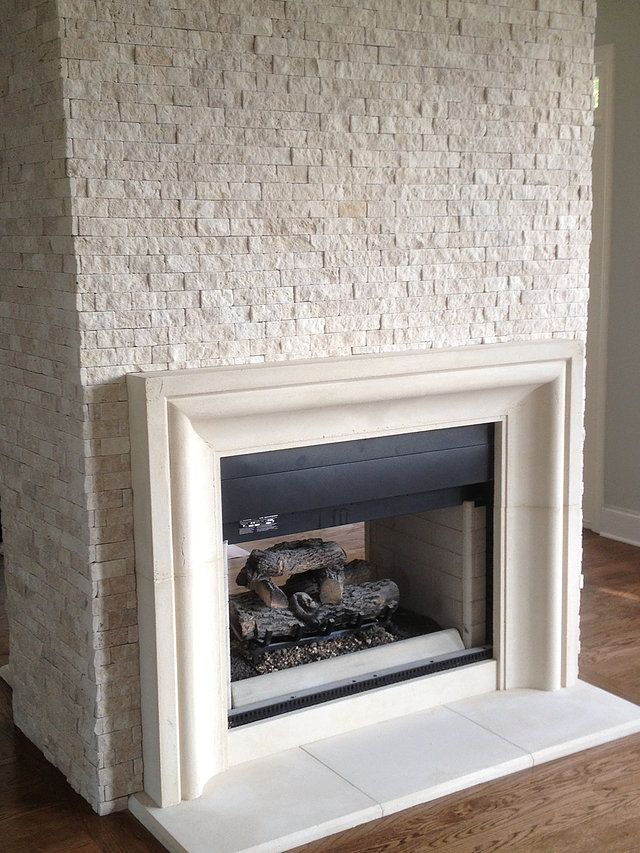 Cast Stone Hoods and limestone fireplace custom products