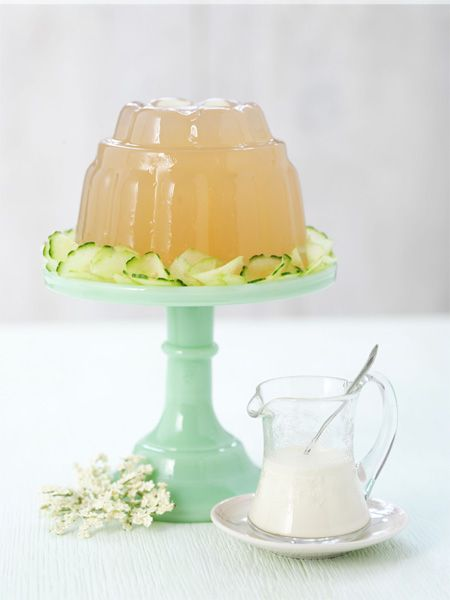 Whilst it looks a tad like a jellyfish it tastes divine! Elderflower & Gooseberry Jelly
