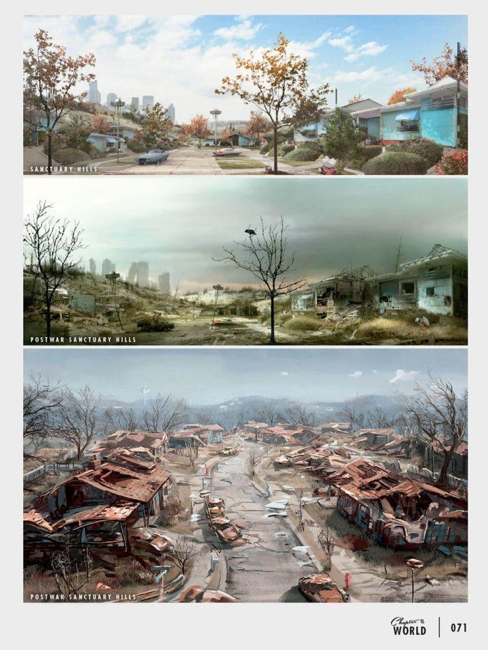 Arte digital dystopia fallout concept art fallout 4 concept art fallout art - Fallout new vegas skyline ...