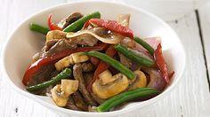 Beef and Mushroom Stir-fry | The Biggest Loser Club