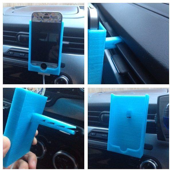 Iphone car holder - 3DFileMarket.com