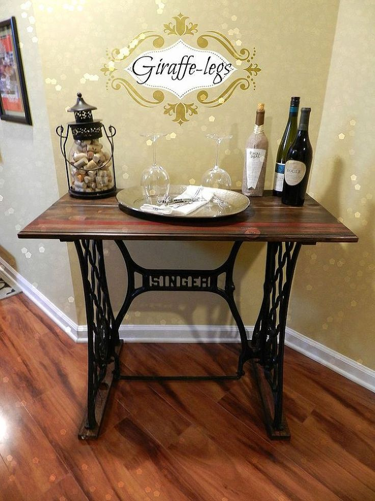Singer Sewing Machine table wonder if this would work with my grandmother's machine?