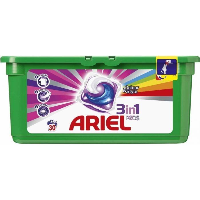 Капсулы для стирки Ariel Pods 3 in 1 Color 30 шт Для Цветного
