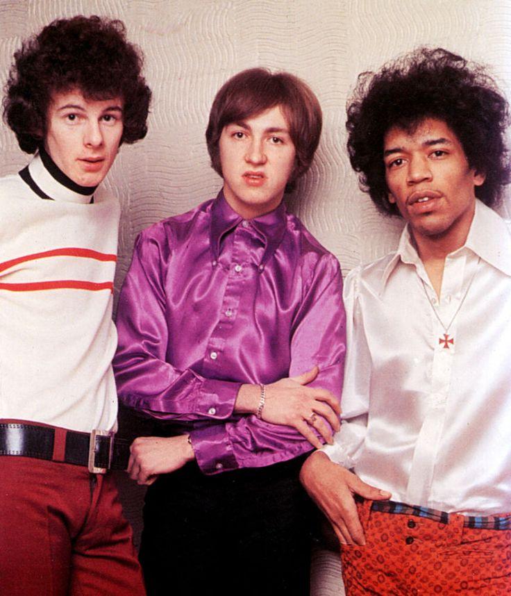 Jimi Hendrix: Noel Redding, Mitch Mitchell and Jimi Hendrix are the Jimi Hendrix Experience.