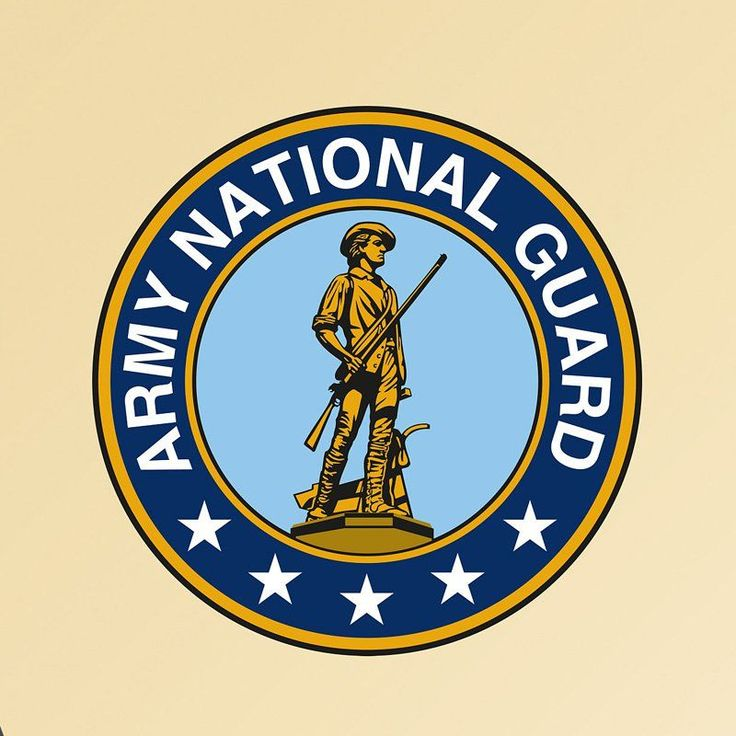 Army National Guard Logo Wall Decal - 61-61312