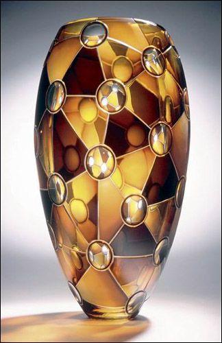 ** Váza - zdobené sklo ♣ Murano **