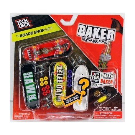 Tech Deck Baker Board Shop set