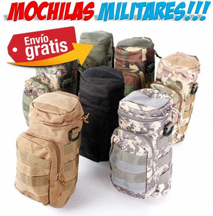 #deportes #Airsoft #Paintball #militar #supervivencia #mochilas #ofertas #compras #yougamebay Tienda online bolsas y mochilas militares de supervivencia para llevar la botella de agua mientras practicas deporte, Airsoft, Paintball. Colores verde, camuflaje, negro, marron. http://www.yougamebay.com/es/product/mochila-militar-para-botellas-de-agua---airsoft-paintball