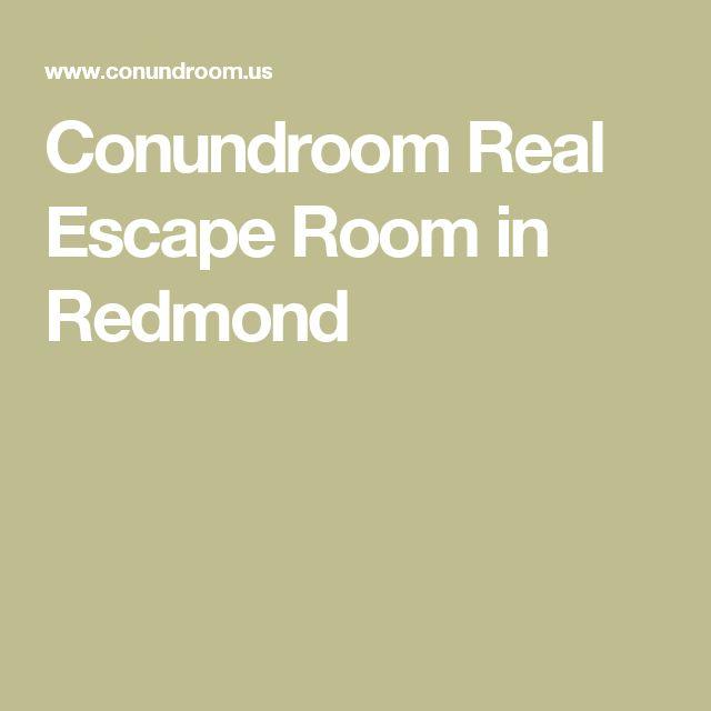 Conundroom Real Escape Room in Redmond