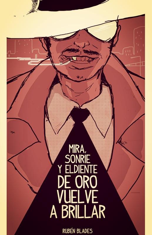 """Pedro Navaja Ilustration for """"Ilustremos Canciones"""" 2013 Song: Pedro Navaja by Ruben Blades"""