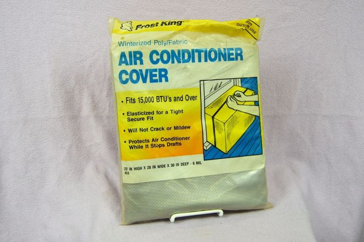 Frost King AC5 Outside Window Air Conditioner Cover, 20 x 28 x 30-Inch 6mil #FrostKing