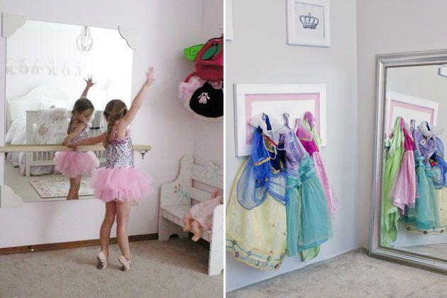Детская комната для девочки-балерины совершенно естественным образом отличается от обычной детской уже тем,