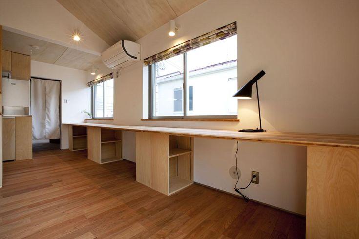 書斎事例:勉強スペース(久が原の家)