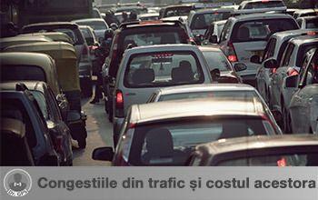 Congestiile din trafic și costul acestora