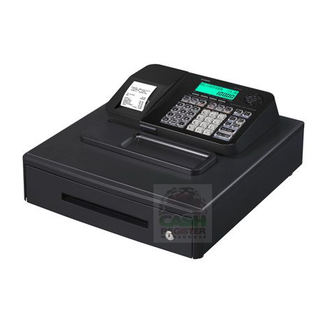 CASIO SE-S100 CASH REGISTER BLACK