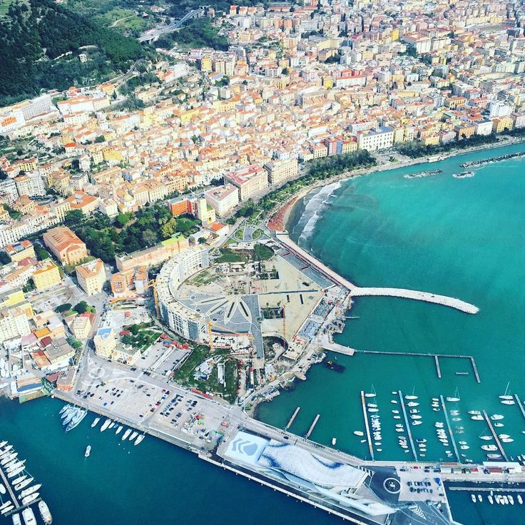 Panorama view of #Salerno in #Campania , #Italy  Discover more at: http://www.livesalerno.com/it/