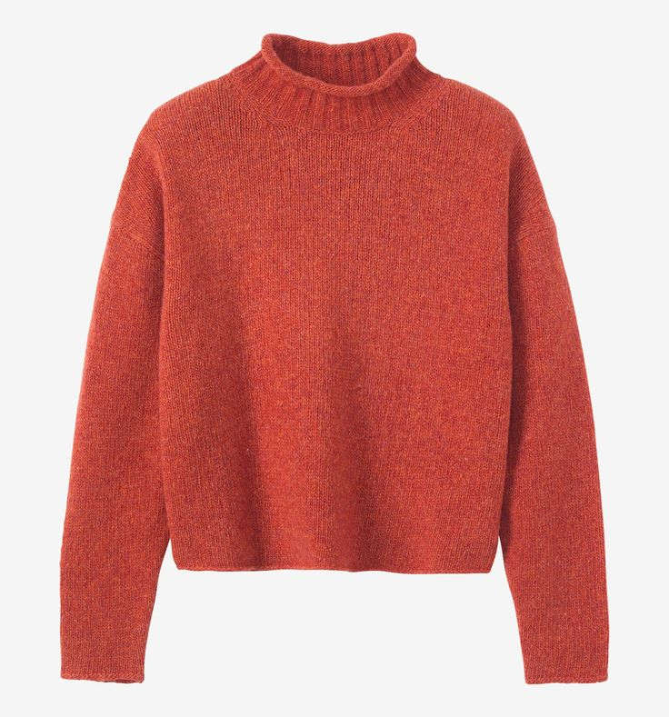 TOAST | Soft Spun Merino Roll Neck Pullover