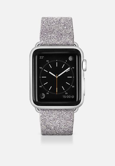 Silver Bling Apple Watch Band (42mm) by Bruce Stanfield | Casetify