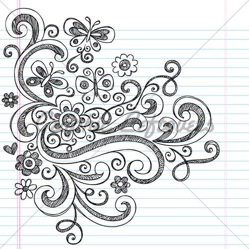 Easy Doodle Art Designs : Best easy doodle art ideas on pinterest choses