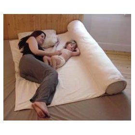 OMG where was this when I needed it?!?! I could still use it - for the baby when he goes to a big boy bed.