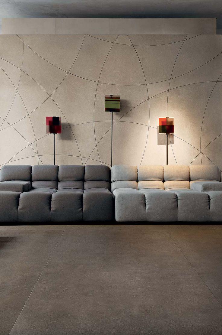 Piastrelle grandi formati e decori mix: Industrial di Floor Gres