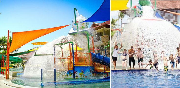 Check out these family-friendly beach resorts with amazing kids' pools and fun water slides, and unique children facilities to stay at in Bali. Your family vacation awaits!