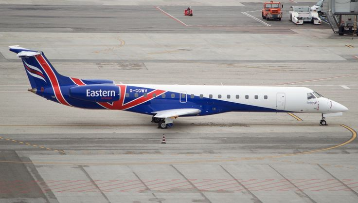 Embraer EMB-145 Eastern Airways with Sampdoria Football Club