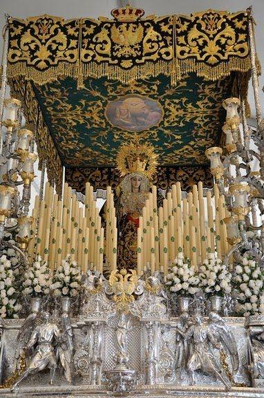 María Santísima de la Esperanza. Semana Santa, Vélez-Malaga. #SemanaSanta #Easter #ssantavelez14 #velezcofrade