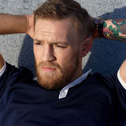 Conor Mcgregor Haircut Taper Fade Haircut Styles And Hairstyles 2018