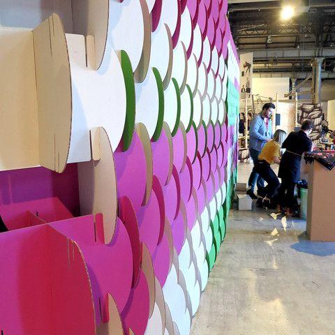 NOMAD system – Karton Cardboard Furniture