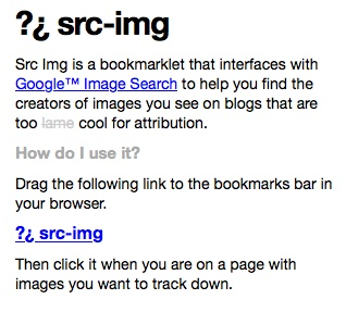 Don't forget the source. Src img is an easy way to find the source of any pin you see that you want to know more about. Remember- artists own copyrights.  Artists make all the pictures on pinterest.  give them credit! http://jarred.github.com/src-img/