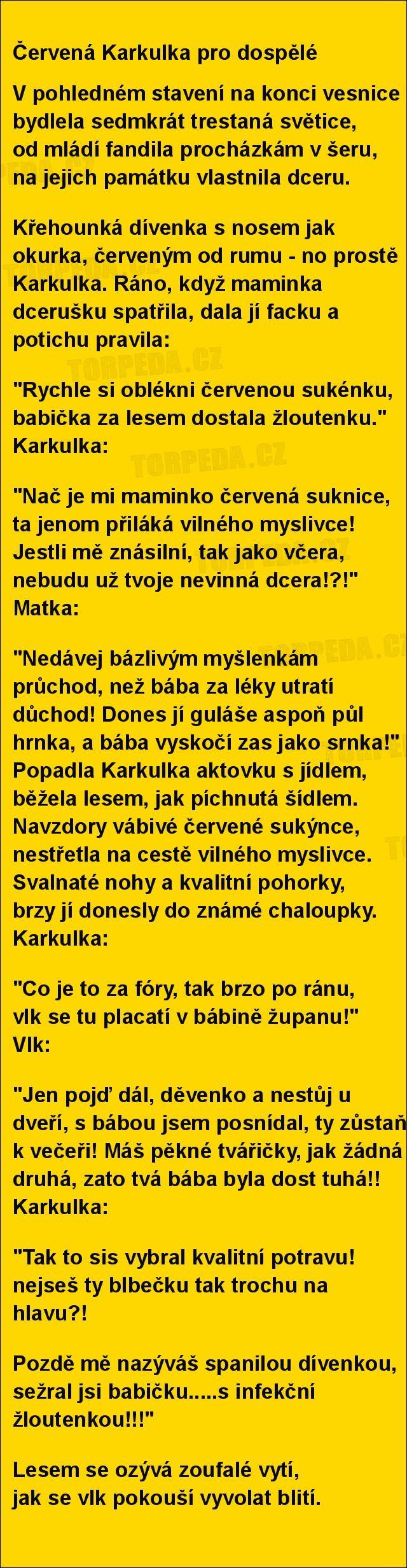 Uložit ke spánku přečtu van pohádku... | torpeda.cz - vtipné obrázky, vtipy a videa