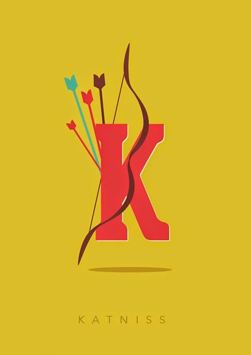 K for Katniss // TO BE SHELVED: Interview with Designer and Illustrator Risa Rodil