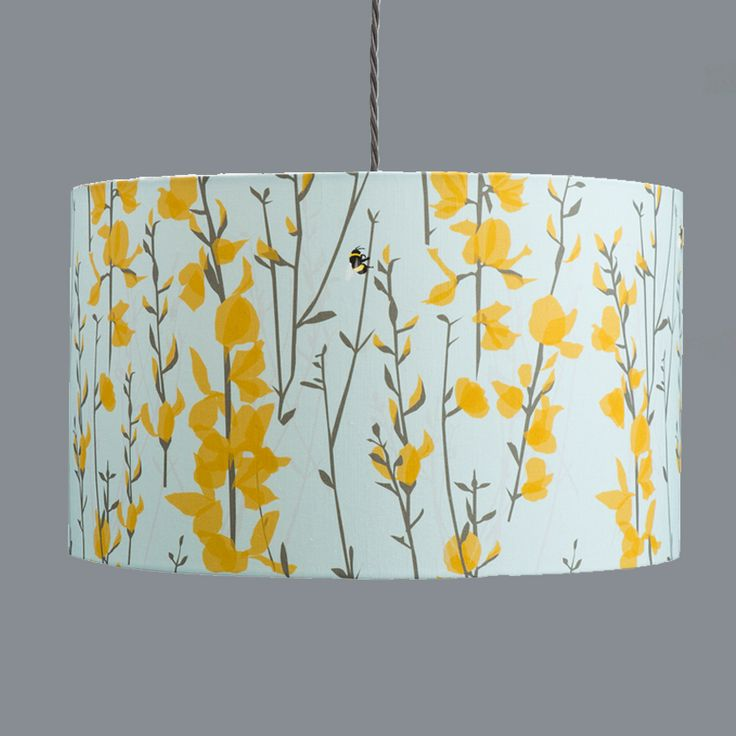 Attractive Broom And Bee Sky Lampshade Designed By Lorna Syson. Design Inspirations