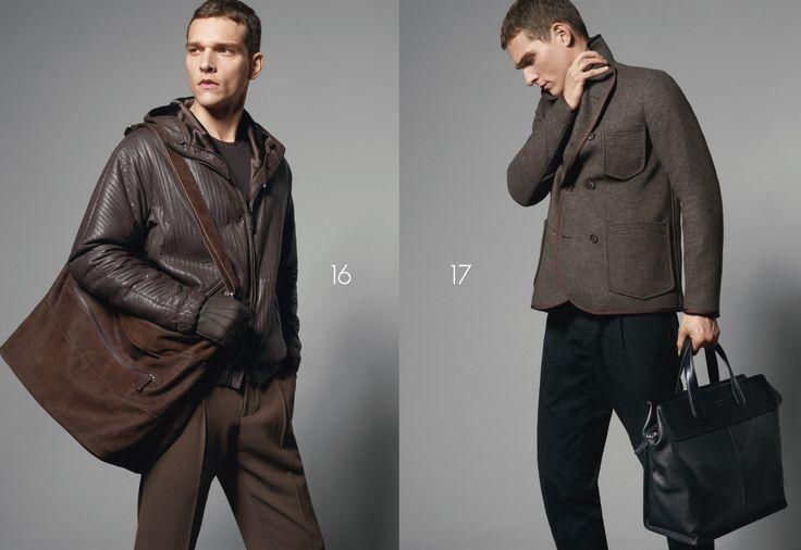 Die neue Herbst Winter 2015 Kollektion von Giorgio Armani, Emporio Armani, Armani Collezioni, Armani Jeans und Armani Junior entdecken.