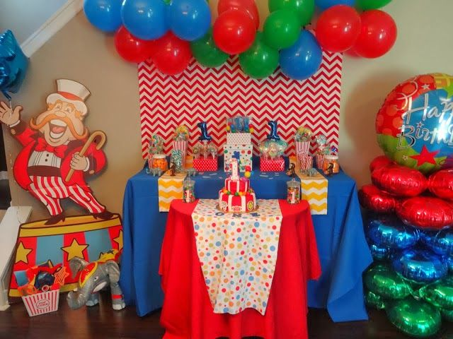 Carnival Circus Birthday Party Op Versierjefeestblogspotnl First