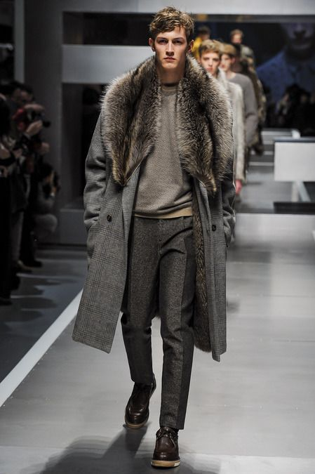 I want this coat. Tout de suite! Fendi Fall2013