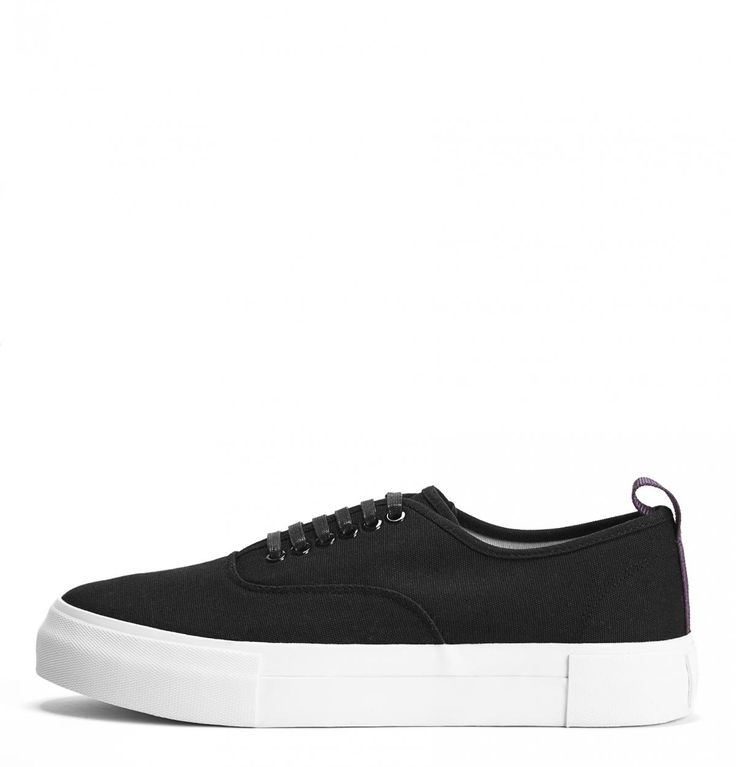 Black Mother Canvas Sneakers