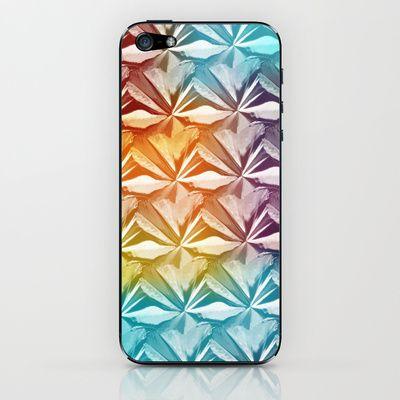 PYRAMID PATTERN iPhone & iPod Skin by hardkitty - $15.00