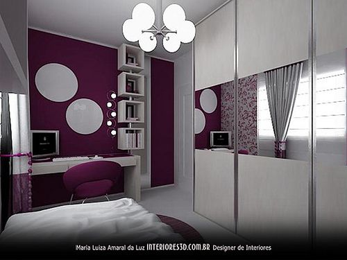 Quarto De Menina Interiores 3d Design De Interiores
