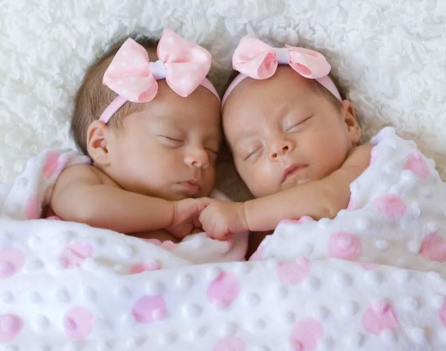 Newborn Twin Girl