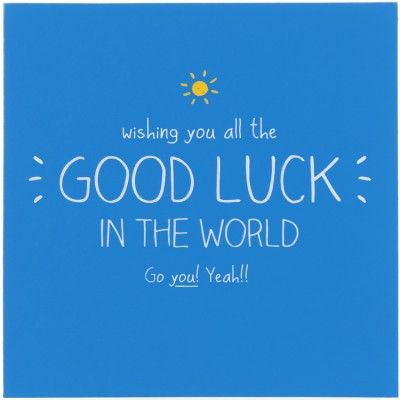 Good Luck Quotes Happy Jackson Wishing You All The Good Luck In The World Card