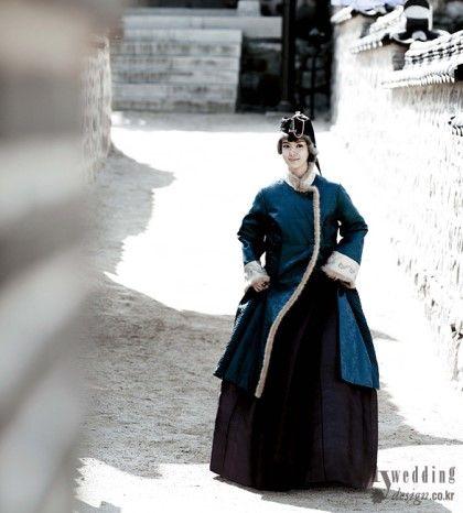 겨울 한복 _ winter Hanbok : 네이버 블로그