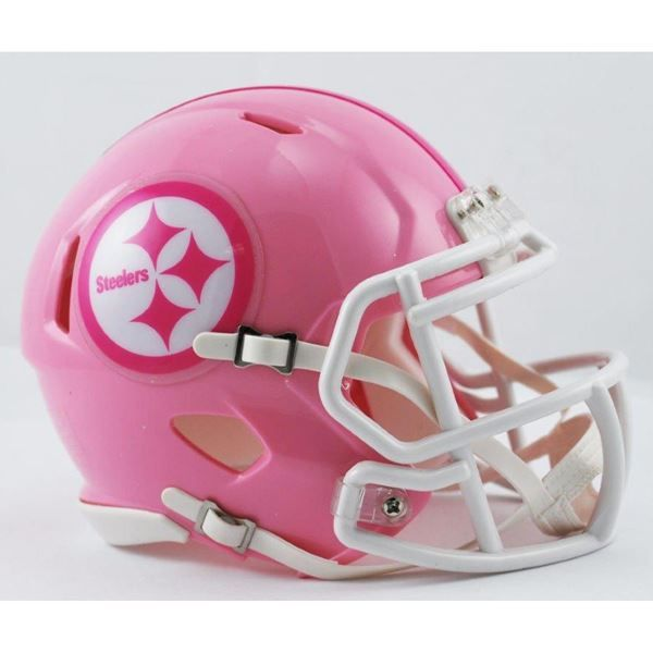 Picture of Pittsburgh Steelers Riddell Pink Mini Helmet