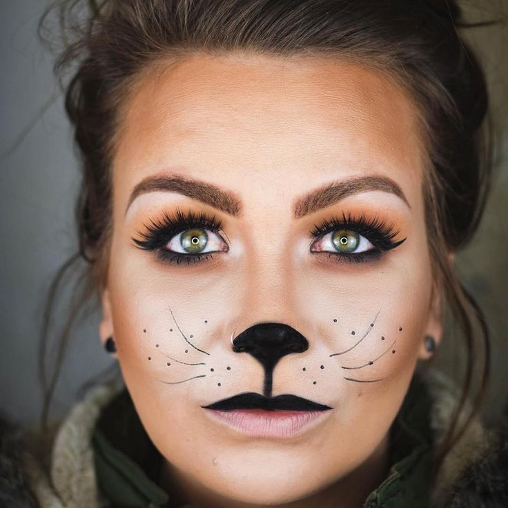 Image result for kid cat face makeup