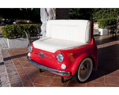 Divano divano con fiat 500 outdoor decor outdoor furniture e furniture - Fiat 500 divano ...