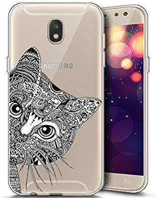 eeb106cfe8fdf2 Coque pour Samsung Galaxy J7 2017,Surakey Etui Housse Mince Silicone  Transparent pour Samsung Galaxy J7 2017 Coque de Protection en TPU avec Ab…    case ...
