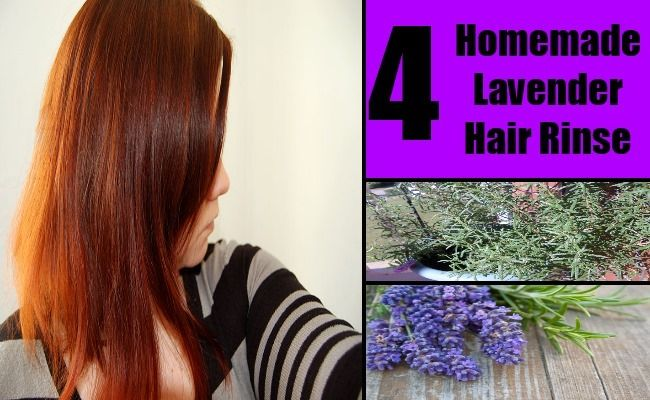 Tips On How to Make Homemade Lavender Hair Rinse